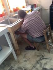Good changes to Admin Bldg kitchen