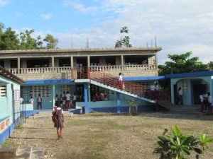Second floor school
