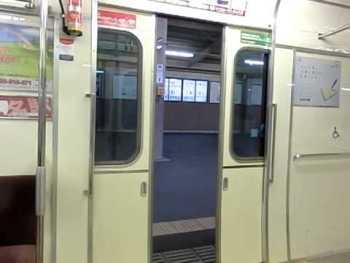 名鉄6500系のドア閉動画