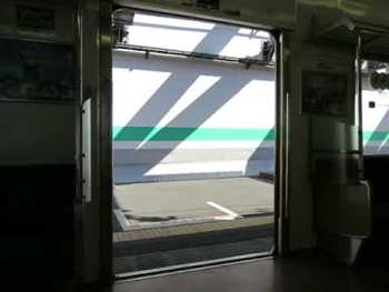 JR東日本205系(後期車)のドア開閉