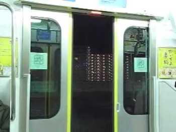 JR東日本E331系のドア閉動画(その2)13m級車