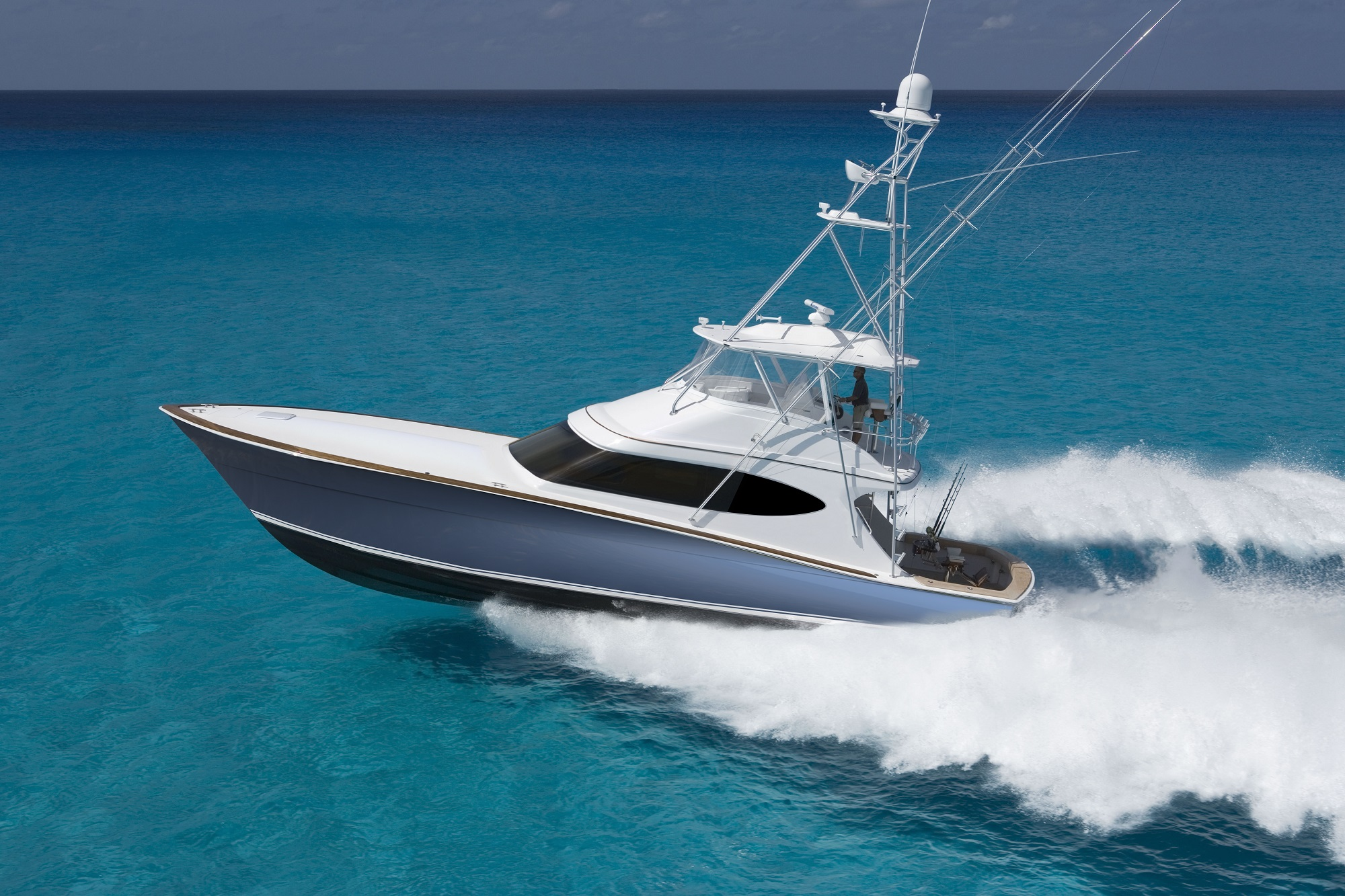 GT59 Convertible Sportfishing Yacht Hatteras Yachts