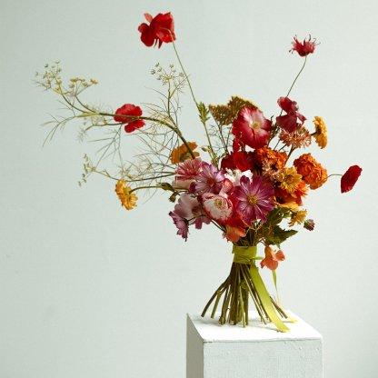 Seasonal Bouquets in Hot Tones | Signature That Flower Shop Arrangement