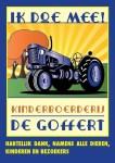 Poster Kinderboerderij