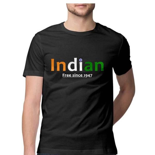 Indian - Black - T-Shirt - HattsOff