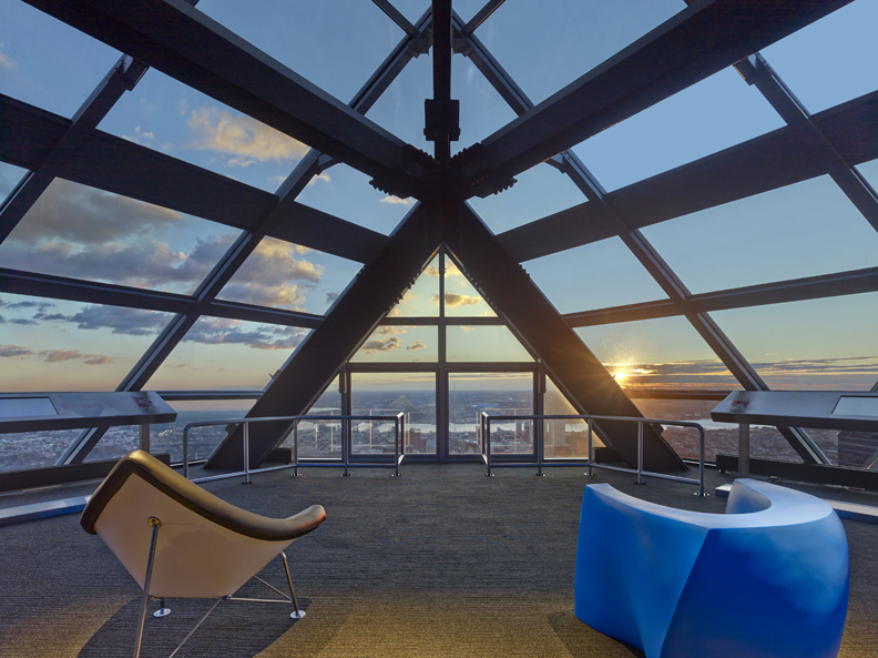 One Liberty Place Observation Deck Hatzel Amp Buehler