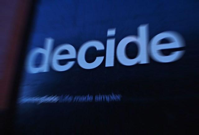Decide - Kaufentscheid