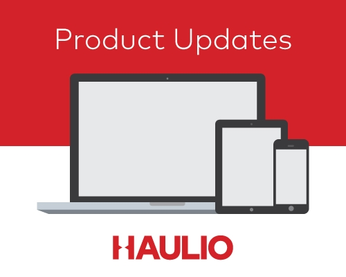 Haulio Product Update: New job types available!