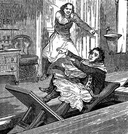 Image of Sweeney Todd - book illustration