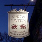 The sign outside of Kings Tavern Natchez Mississippi
