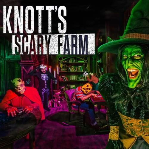 KNOTT'S SCARY FARM, THEME PARK, Knott's Berry Farm, HAUNTED HOUSES HAUNT Buena Park, Los Angeles, CA