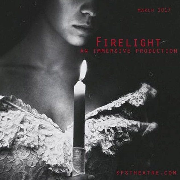 Firelight Stephanie Feury Studio Theater Immersive Theater Love Haunting Haunting.net