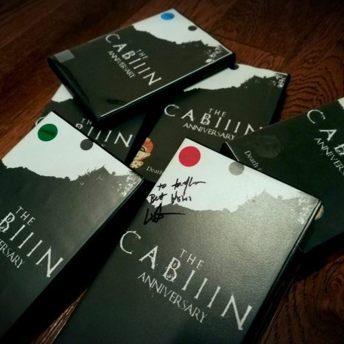 The Cabin - Heretic - Overnight Horror Simulation - Pre-show VHS Cases - Extreme Haunt