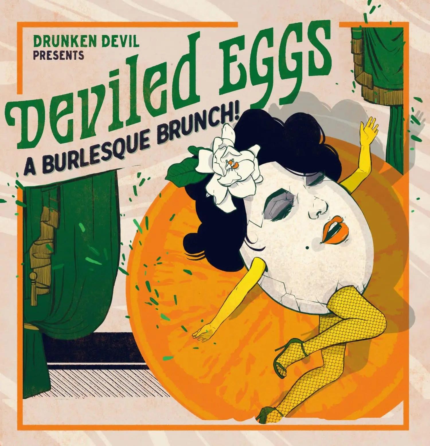 Drunken Devil - Burlesque brunch - Deviled Eggs - Immersive
