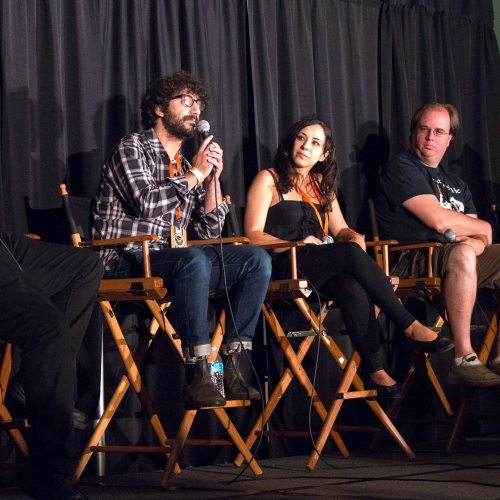 Midsummer Scream - Immersive Horror Panel - Stage and Scream - Landon Zakheim Overlook Film Festival - Anna Mavromati Shine On Collective - Noah Nelson No Proscenium - Zombie Joe's Underground - Wicked Lit