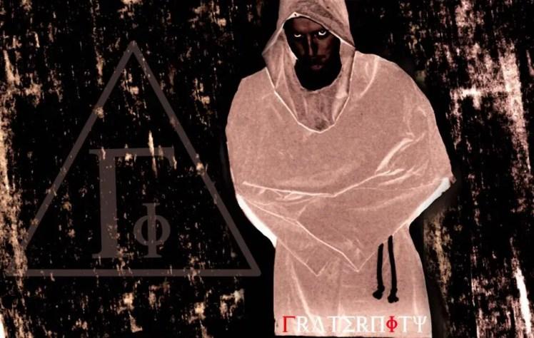 Fraternity Hooded Ordre Member
