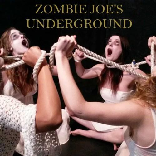 Zombie Joe's Underground - Performance Shock Black Box Theater - Immersive Theater - North Hollywood - Los Angeles - CA