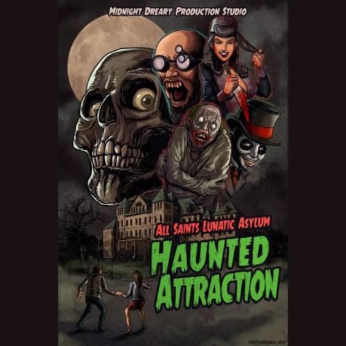 All Saints Lunatic Asylum, Halloween 2020, Apple Valley, CA, Haunted House