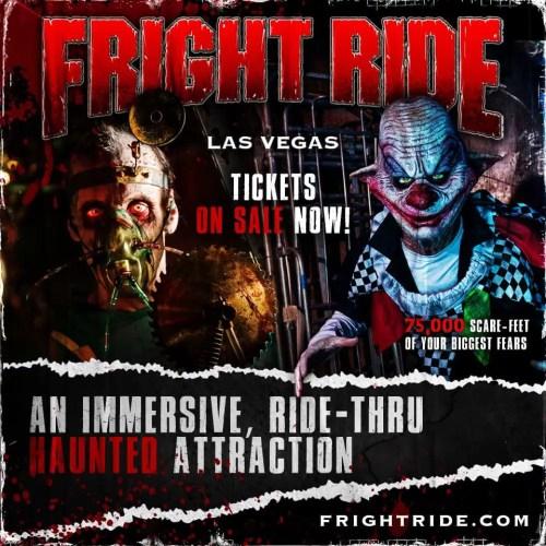 Fright Ride, Ride Through Haunt, Las Vegas, NV, Haunted House