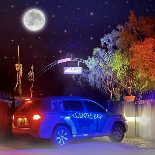 Haunted Barnyard Interview, The Gentle Barn, Santa Clarita, Drive-Thru Haunt, CA