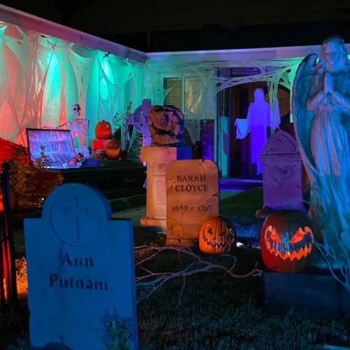 The Curse of The Raven, OC Yard Haunt Displays, Orange County, CA, Halloween