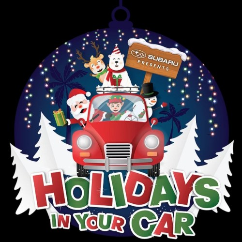 Holidays in Your Car, Drive-Thru Experience, Christmas, Holidays, Installation, Ventura, Del Mar, Holiday Guide 2020