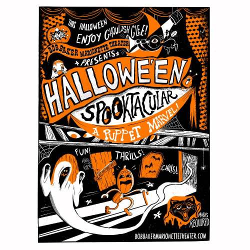 Bob Baker Marionette Theater - Halloween Spooktacular 2021 - Performance Theater - Los Angeles - CA