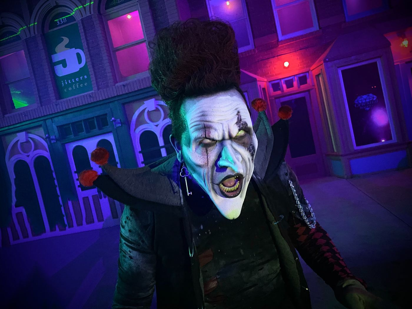 Six Flags Magic Mountain - Fright Fest 2021 - Theme Parks & Installations - Santa Clarita - CA