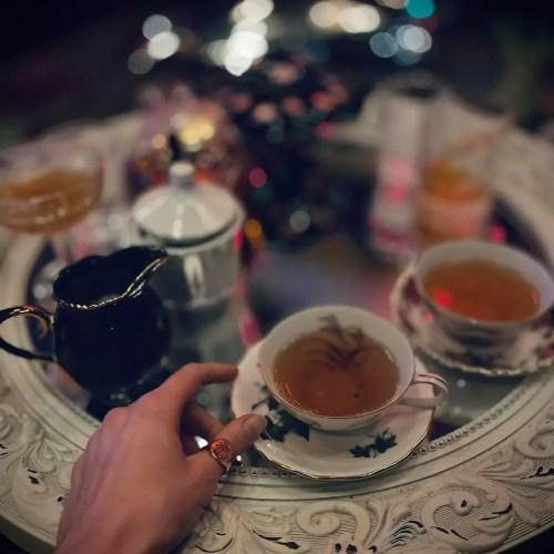 Lilly Rose - Spooky Tea - Spooky High Tea - Dinner & Drinks - Los Angeles - CA - The Wayfarer Hotel