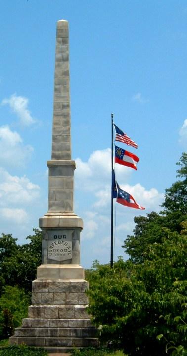Oakland Cemetery Confederate Monument