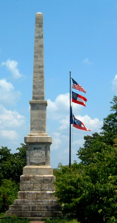 Oakland Cemetery Confederate Monument