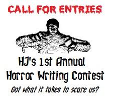 HJ Horror Writing Contest sidebar