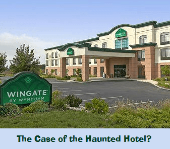 Ghost Caught on Tape Proof of a Haunted Hotel?