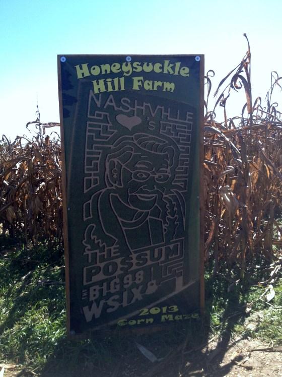 Honeysuckle Hill Corn Maze