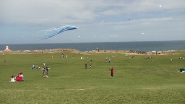 Kite Flying at del Morro