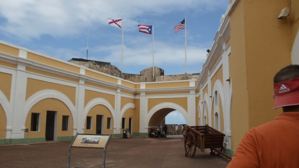 Main Plaza within El Morro