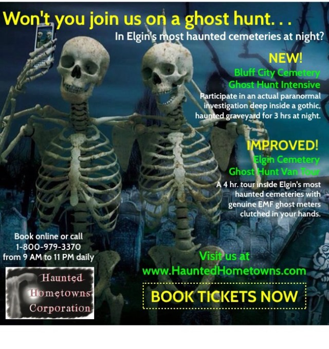 HISTORIC GHOST HUNT TOURS OF ELGIN