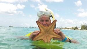 Wayne starfish snorkeling
