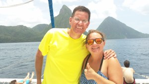 Thumbs up to the Pitons excursion in St. Lucia