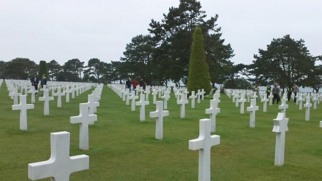 Normandy cemetery 2