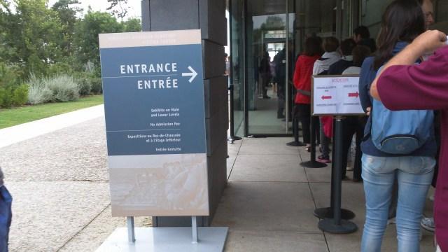 Museum (aka Visitor Center) entrance.