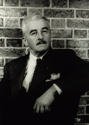 William Faulkner by Carl Van Vechten, 1954, courtesy of the Library of Congress, Prints and Photographs Division.