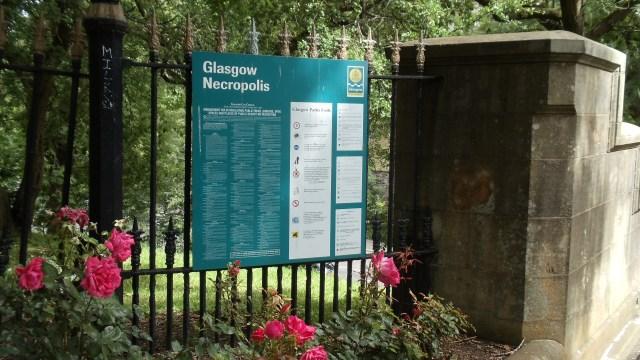 Glasgow Necropolis Entrance