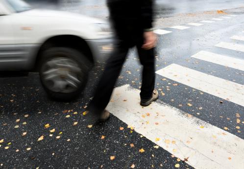 pedestrian accident photo