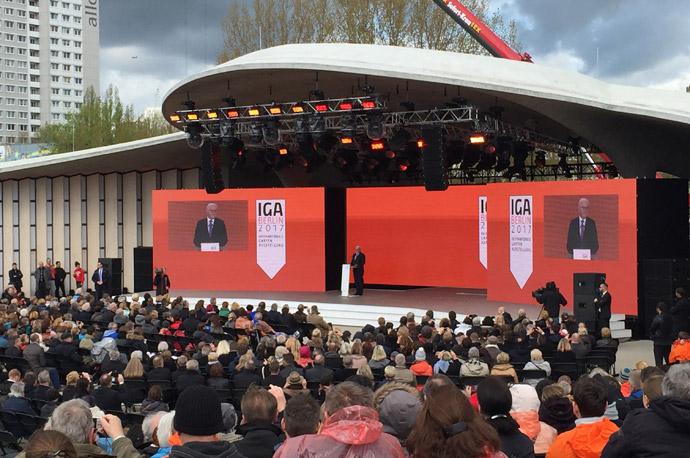 IGA Berlin 2017 Eröffnung