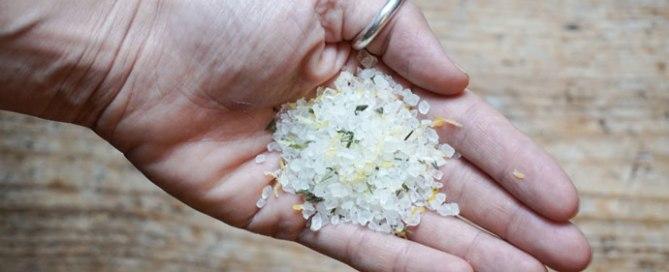 Zitronen Rosmarin Salz
