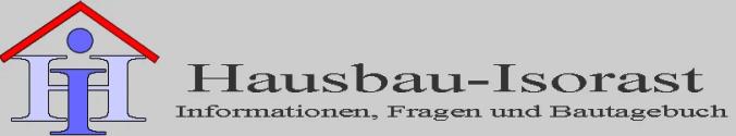 Hausbau-Isorast