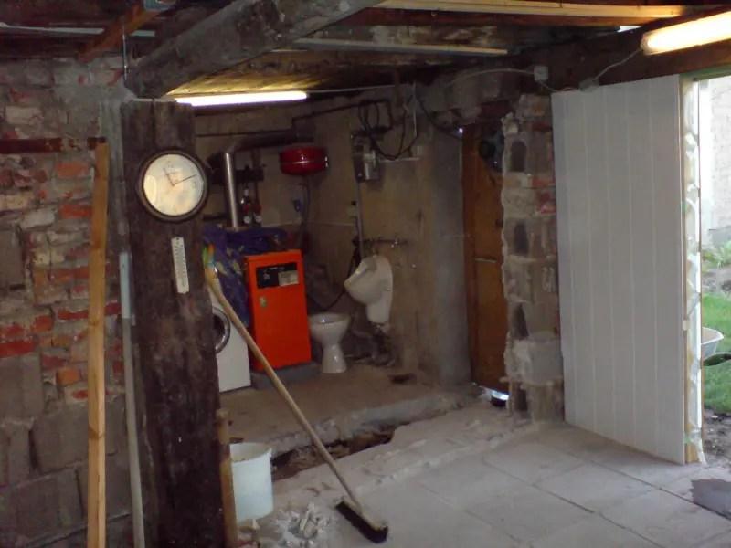 Umbau Werkstatt Wohnraum