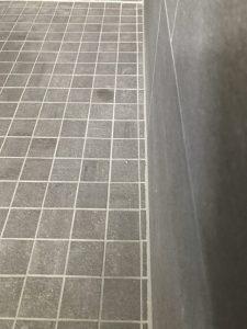 Schiefer Fliesenteppich