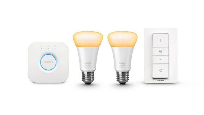 Die Glühbirne ist heute Teil eines komplettes Lichtkonzeptes, mit dem wir unss beeinflussen können und welches wir über moderne Lichtschalter oder als Teil des Smart Homes auch über Apps steuern können. (Foto: Philips)
